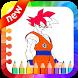 Super Saiyan Best Coloring Game by Saliha Studio