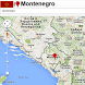 Montenegro map by Borgo Map