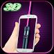 Hologram Laser light 3D- Prank by apptab