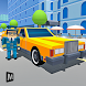 Blocky City Limo Car Driving by MAS 3D STUDIO - Racing and Climbing Games