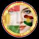 Kurdish Flag by Allan Mohammed