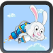 run from jumping bunny by ANASS ACHEACH