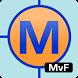 Man v. Food Restaurant Locator by MapMuse.com