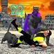 Super Multi Panther Flying hero City Survival war by Daring Hub Studio
