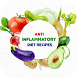 Anti Inflammatory Diet Recipes: Healthy Diet Meal by Free Recipes Apps
