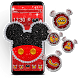 Cute Red Mouse Theme by Ahl ar-ray solutions pvt ltd