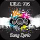 Blink 182 Song Lyric by Jack Black