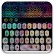 Colorful Galaxy Keyboard Theme by Ad HD Themes & Wallpapers