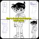 How to Draw Conan Edogawa & Friends Full Body by hanariaapps
