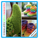 crochet yarn projects by Panroll