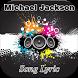 Michael Jackson Song Lyric by Jack Black