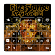 Fire Flame Keyboard by MZ Development, LLC