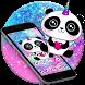 Cuteness Panda Colorful Crayon Theme by Beauty Stylish Theme