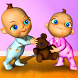 Talking Baby Twins - Babsy by Kaufcom Games Apps Widgets