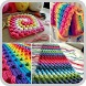 Design Pattern Crochet Blanket by queendroid