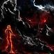 Fiery man in the gloom LWP by Beremens