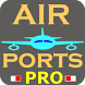 Airport codes PRO by sjAPP