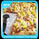 Caramelized Pineapple Pizza Recipe by Sombrero Studio