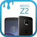 Theme for Motorola Moto Z2 by SoftClickSolutions
