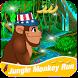 Jungle Monkey Run 2 by cizarapps