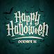 Halloween Cards Wishing Happiness