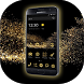 Gold Theme for Huawei Samsung by Mr. Spring