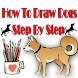 How To Draw Dogs Step By Step by aonecreation