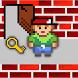 Pixel Boy 2D puzzle adventure by 0A1.EU