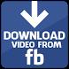 تحميل فيديوهات الفيسبوك by dev99