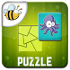 Kids Shape Puzzle Game by Fun4Kids HoneyBee