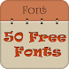 50 Fonts for Samsung Galaxy 14 by Free Font Style for Android