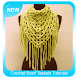 Crochet Scarf Tassels Tutorials by The Andromeda Studio