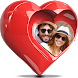 Valentine Love Photo Frame by Framography Apps