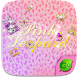 Pink Leopard GO Keyboard Theme by GOMO Dev Team