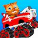 Cat Race Car Snow Drift Stunts by Wonderful Games AG