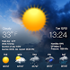Live weather report&humidity by Weather Widget Theme Dev Team