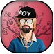 Boys Photo Editor by Blue Lights