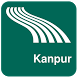 Kanpur Map offline by iniCall.com