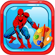 Amazing Spider Superhero Coloring Pages for kids by Saliha Studio
