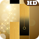 Gold Piano Tiles by KING UNIVERS