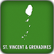 St. Vincent Grenadines GPS Map by Kaart Group, LLC
