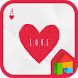 heart card 도돌런처 테마 by iconnect for Phone themeshop
