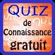 Quiz de Connaissance gratuit by super devlop
