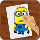 How to Draw :Despicable Me by Loenpia