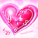 Pink Heart LiveWallpaer by Rooty Pict