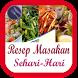 Buku Resep Masakan Sehari Hari by FiiSakataStudio