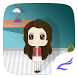 Cute Girl Cartoon Theme by Launcher theme for Android