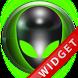 Poweramp Widget Green Alien by Maystarwerk Skins & Widgets Vol.1