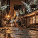 Rainy Christmas Night LWP by Daksh Apps