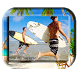 Summer Beach Photo Frame by Studioapps